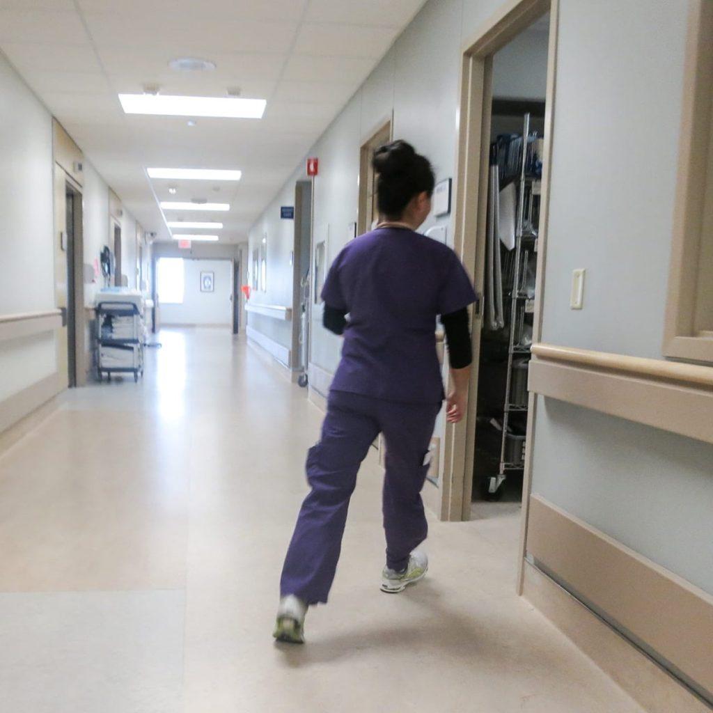 Nurse on the move
